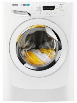 Wasmachine huren : Zanussi ZWF8167NW 1600 toeren invertermotor