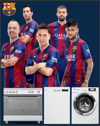 Beko sponsor van FC Barcelona