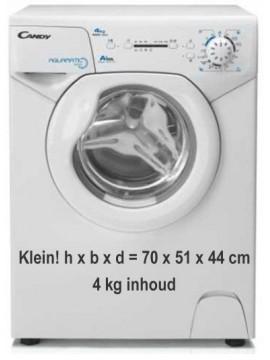 Kleine wasmachine huren : Candy Aqua1041D1-s