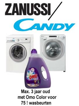 Occasion standaard klasse max 3 jaar oud - Met gratis Omo Color  voor 75 wasbeurten -