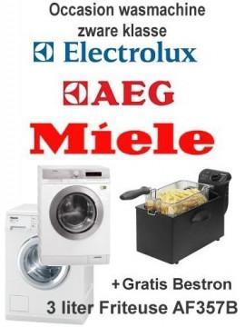Gratis Bestron friteuse bij huur wasmachine zware klasse