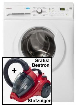 Occasion Zanussi ZWF71443W wasmachine met gratis stofzuiger!