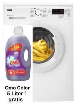 Huren: Zanussi ZWFN7145 wasmachine met Omo Color