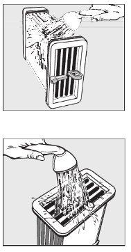 Wasdroger condensorbak